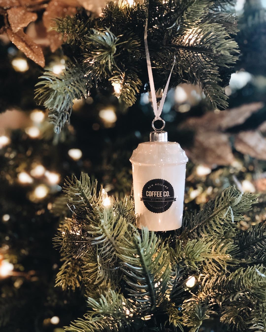 Coffee Christmas Ornament.Nhcc Coffee Mug Ornament