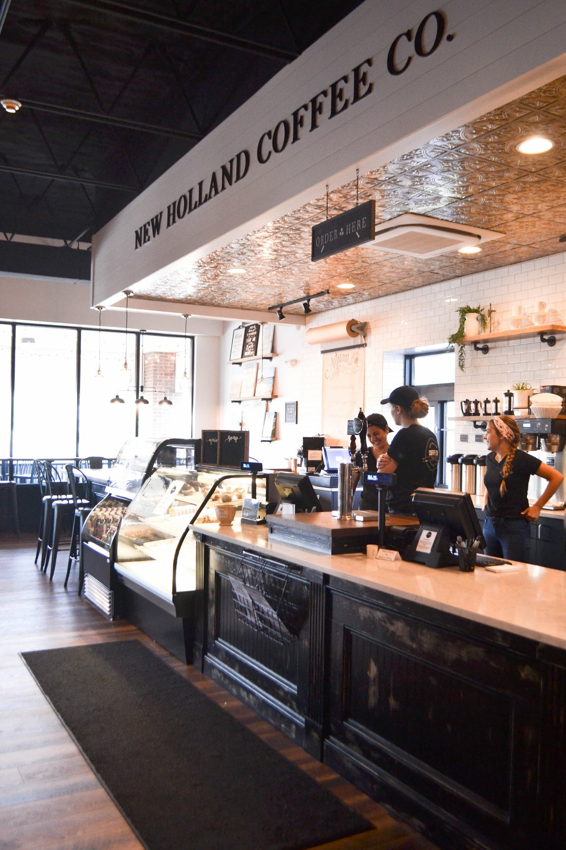 About New Holland Coffee Co In Shop Roasted Coffee