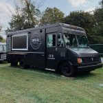 lancaster coffee and food truck in a field