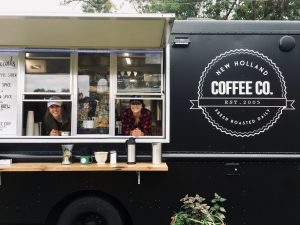 lancaster pa coffee company food truck with service window