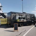 lancaster county coffee company food and coffee truck parked at a food truck festival